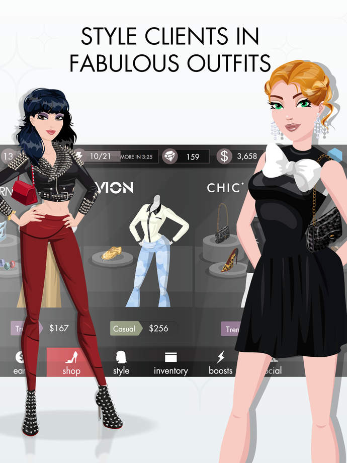 Top Stylist The Fashion Game App Ranking And Store Data App Annie