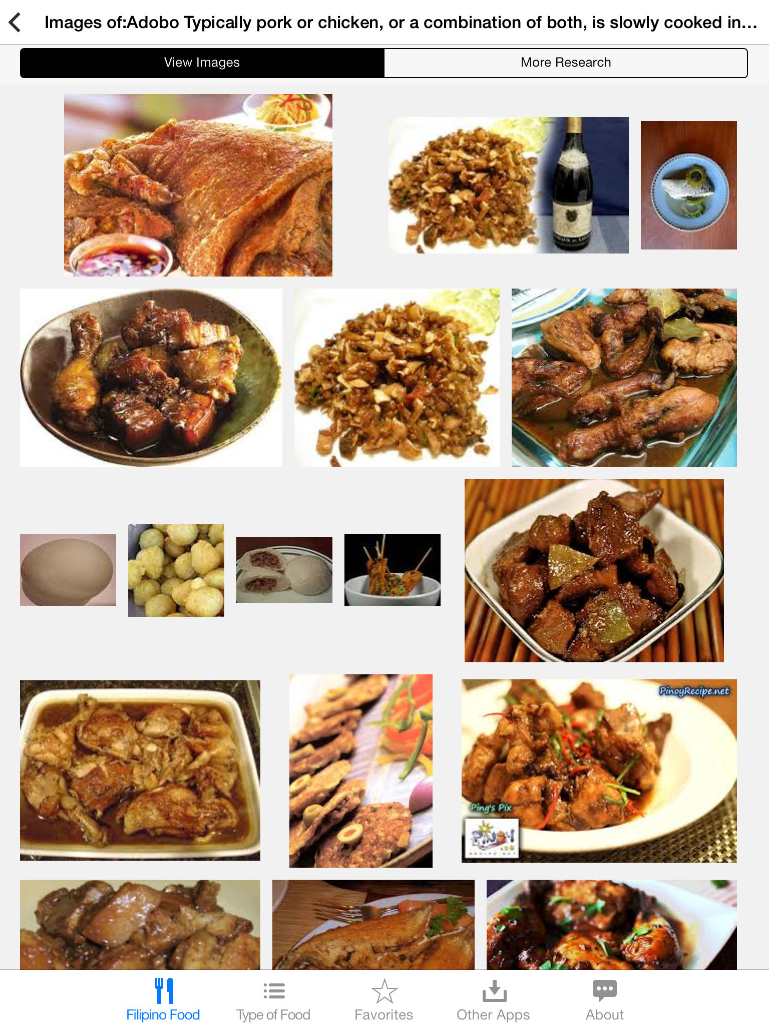Filipino food app ranking and store data app annie app description want to know what dishes forumfinder Image collections