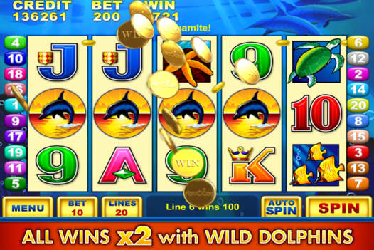 dolphin treasure slot machine free download