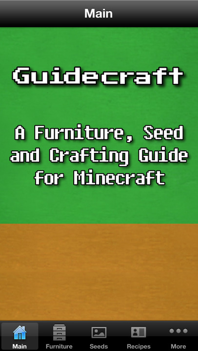 Guidecraft Seeds Furniture Ideas And Crafting Guide For
