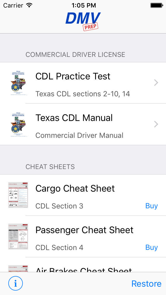 photo regarding Cdl Hazmat Practice Test Printable identified as Texas CDL Check Prep Application Position and Retailer Details Application Annie