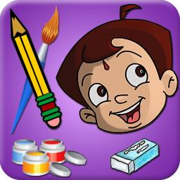 Draw & Color Chhota Bheem and his Friends App Ranking and