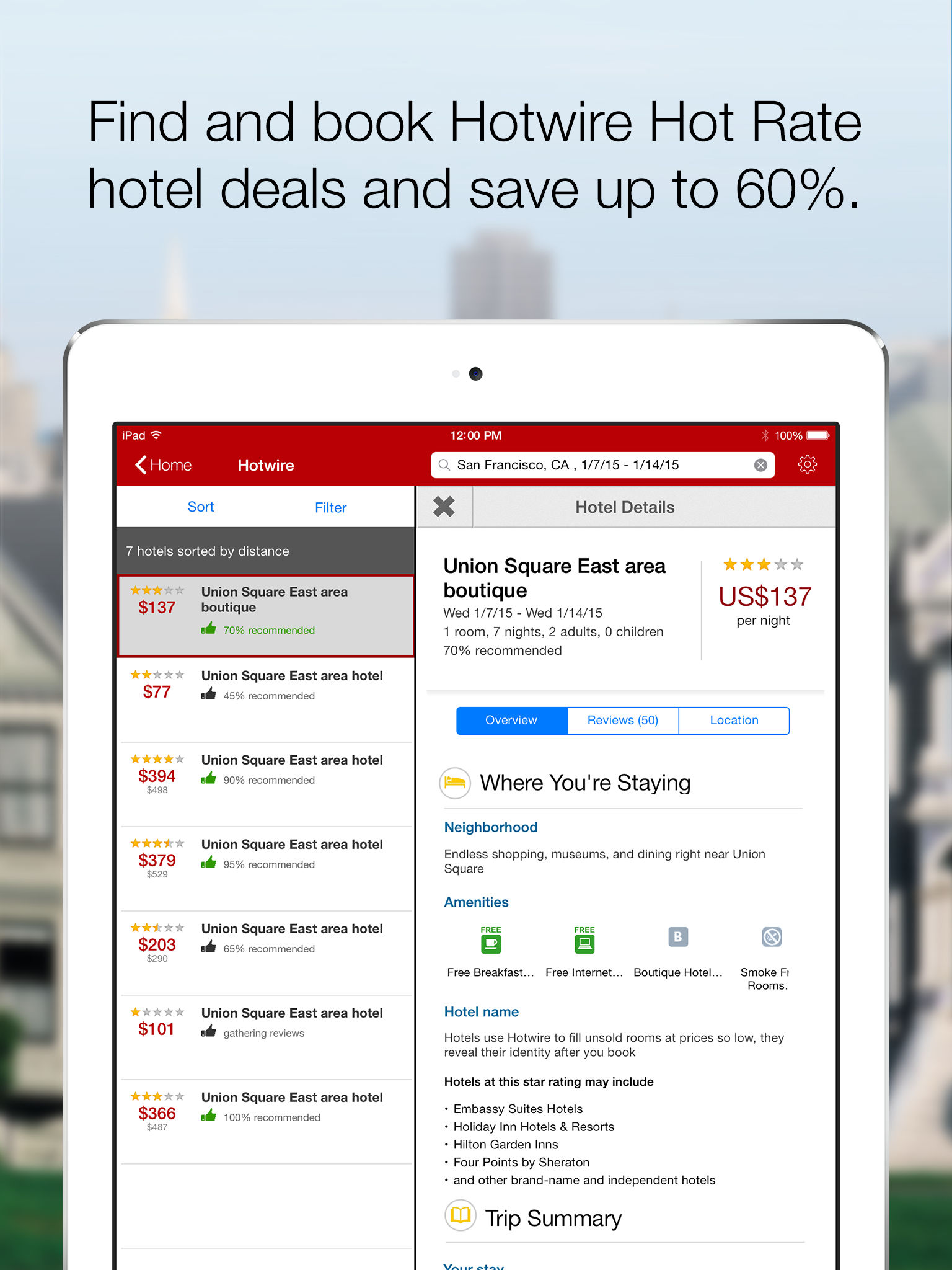hotwire travel deals on hotel rooms car rentals app ranking and