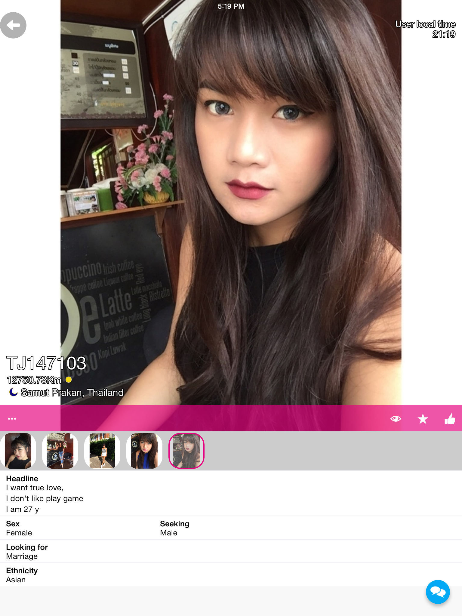 ThaiJoop - Thai Dating App Ranking and Store Data | App Annie