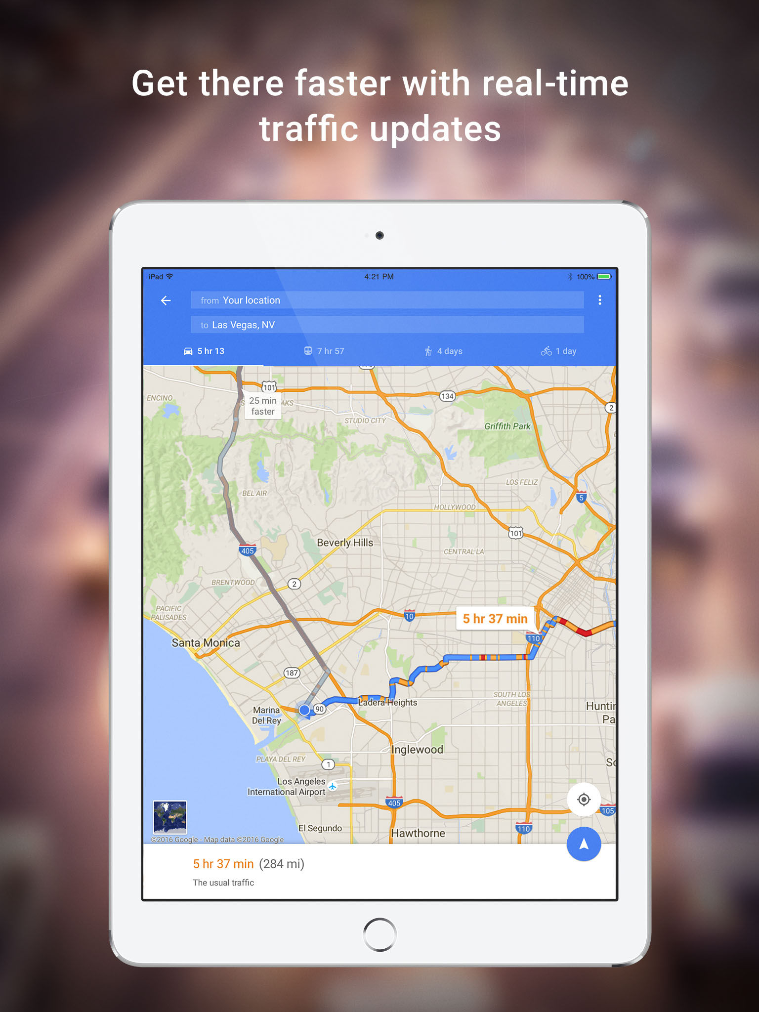 Google Maps Navigation  Transit App Ranking And Store Data - Los angeles navigation map