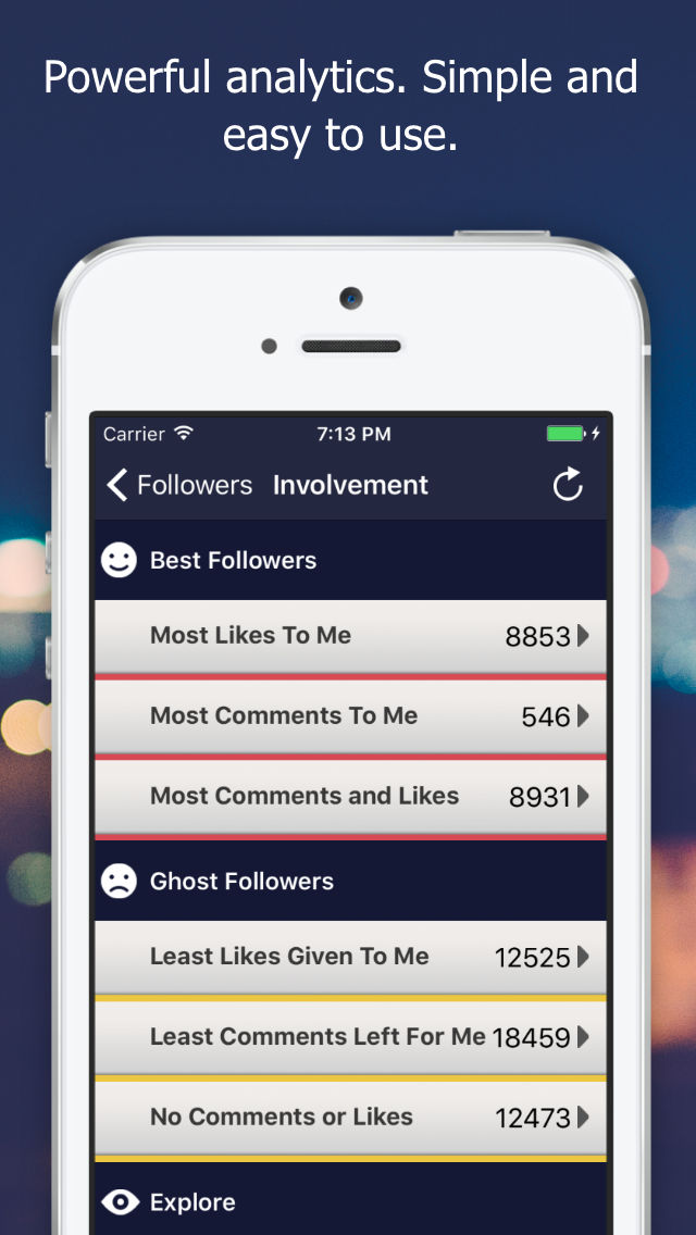 Followers Track for Instagram! App Ranking and Store Data