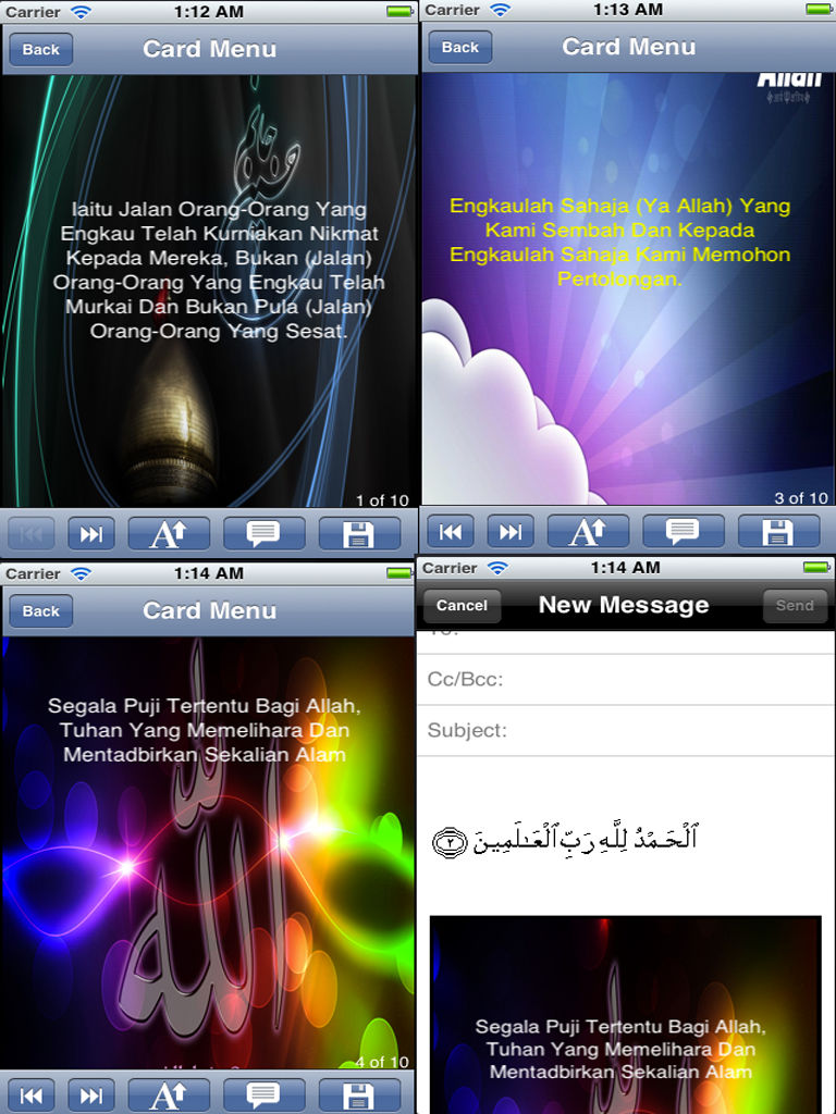 Al Quran Surah With Malay Translation Customize And Share Quran