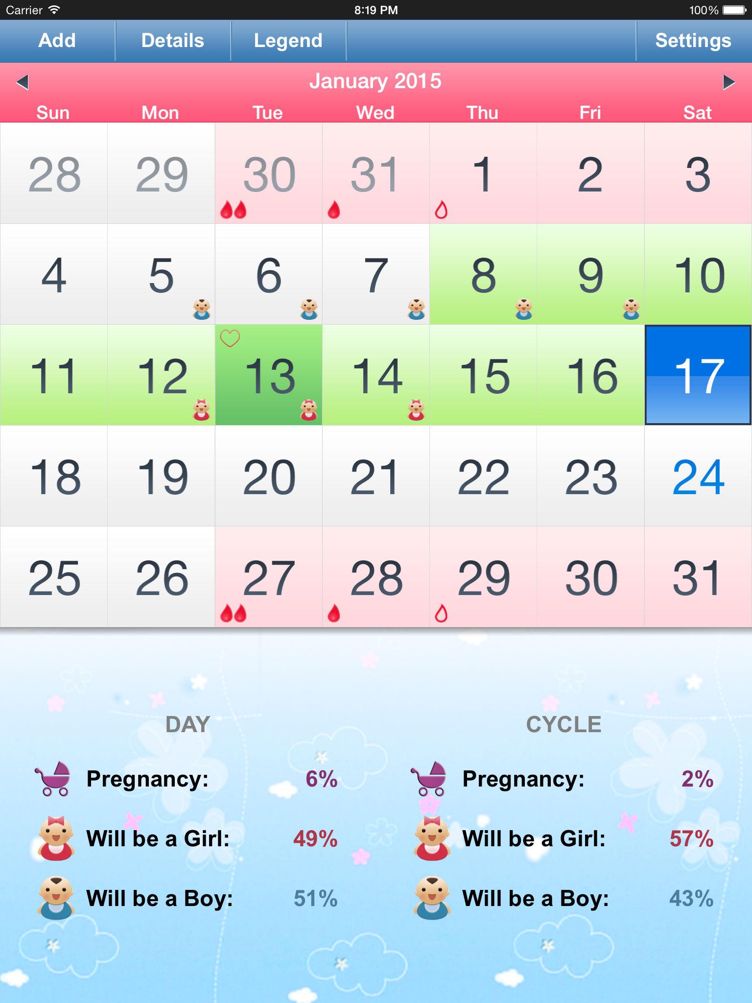 Calendar Method Calculator Application