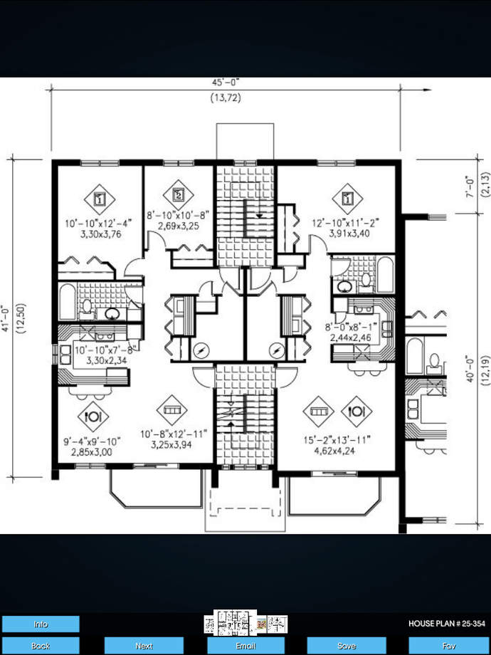 Multi family house plans ios store store top apps app for House layout app
