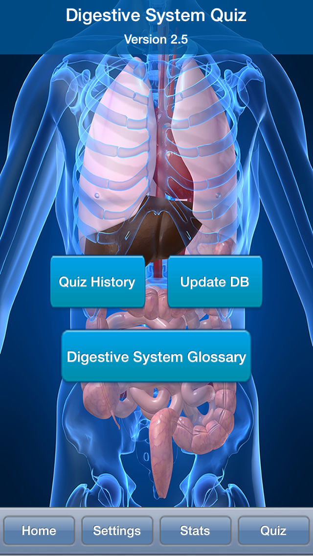 Human Biology : Digestive System Quiz App Ranking and Store Data ...