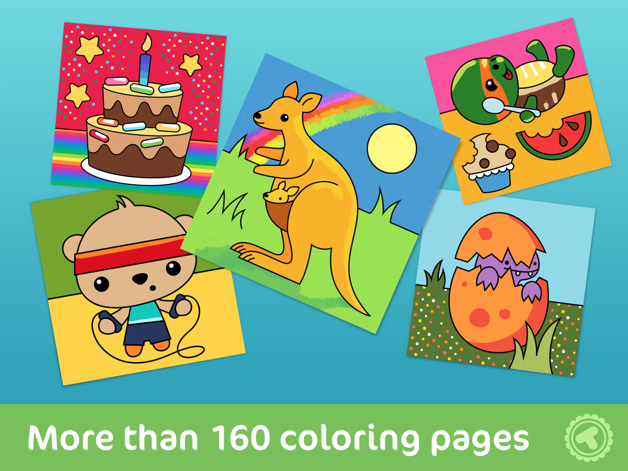 Toonia Colorbook - Educational Coloring Game for Kids & Toddlers App ...