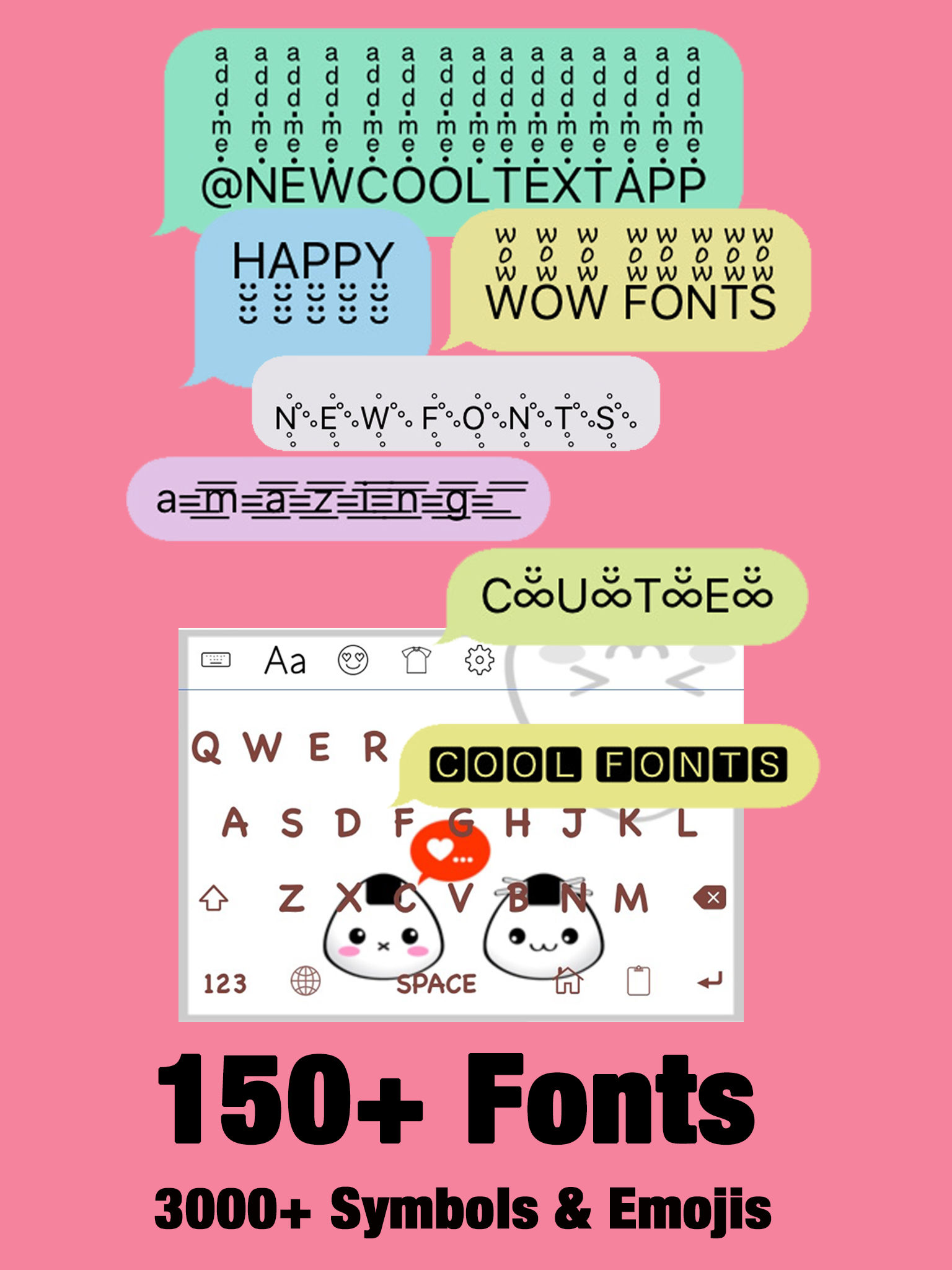New cool text fonts fxemoji font font keyboard app ranking and app description coolest fonts symbols biocorpaavc Image collections