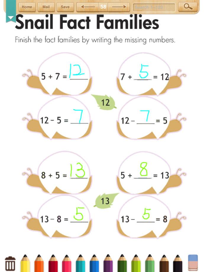 math worksheet : math worksheets grade 1 app ranking and store data  app annie : Grade 5 A B C Division Worksheet