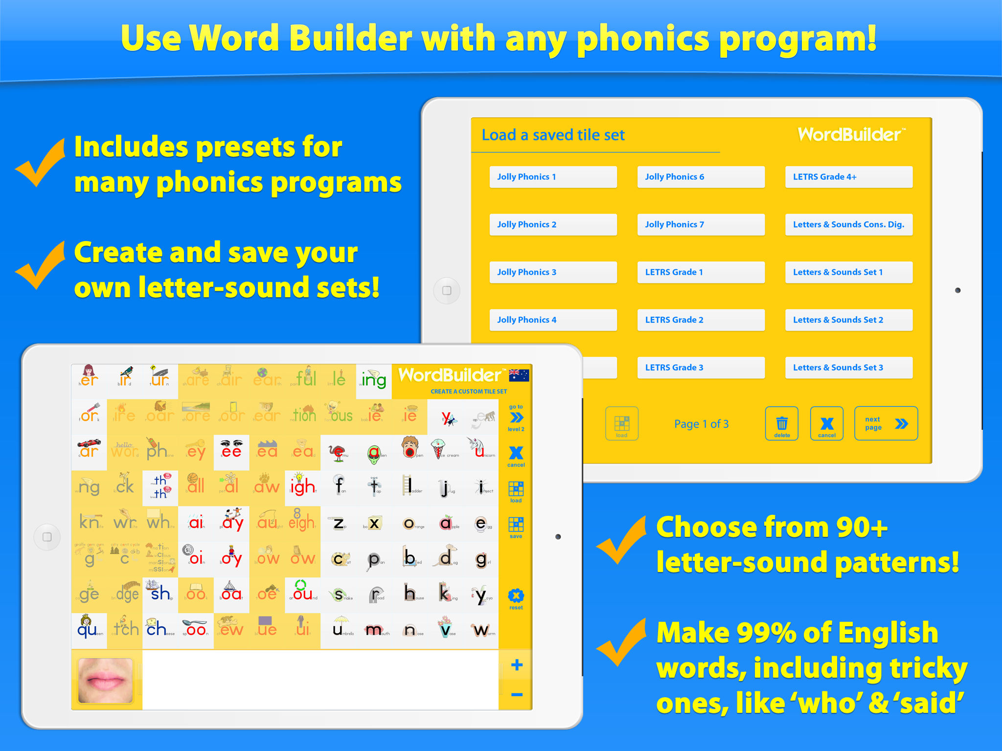 worksheet Phonics Programs word builder the phonics teaching tool app ranking and store description