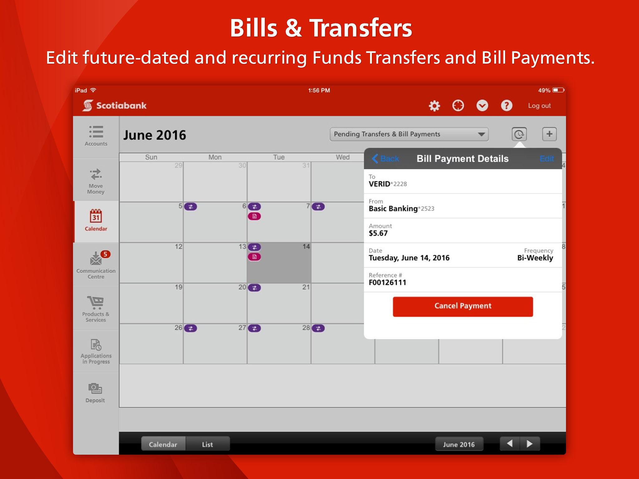 Scotiabank for iPad® App Ranking and Store Data | App Annie