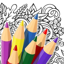 Doodle Color Coloring Book