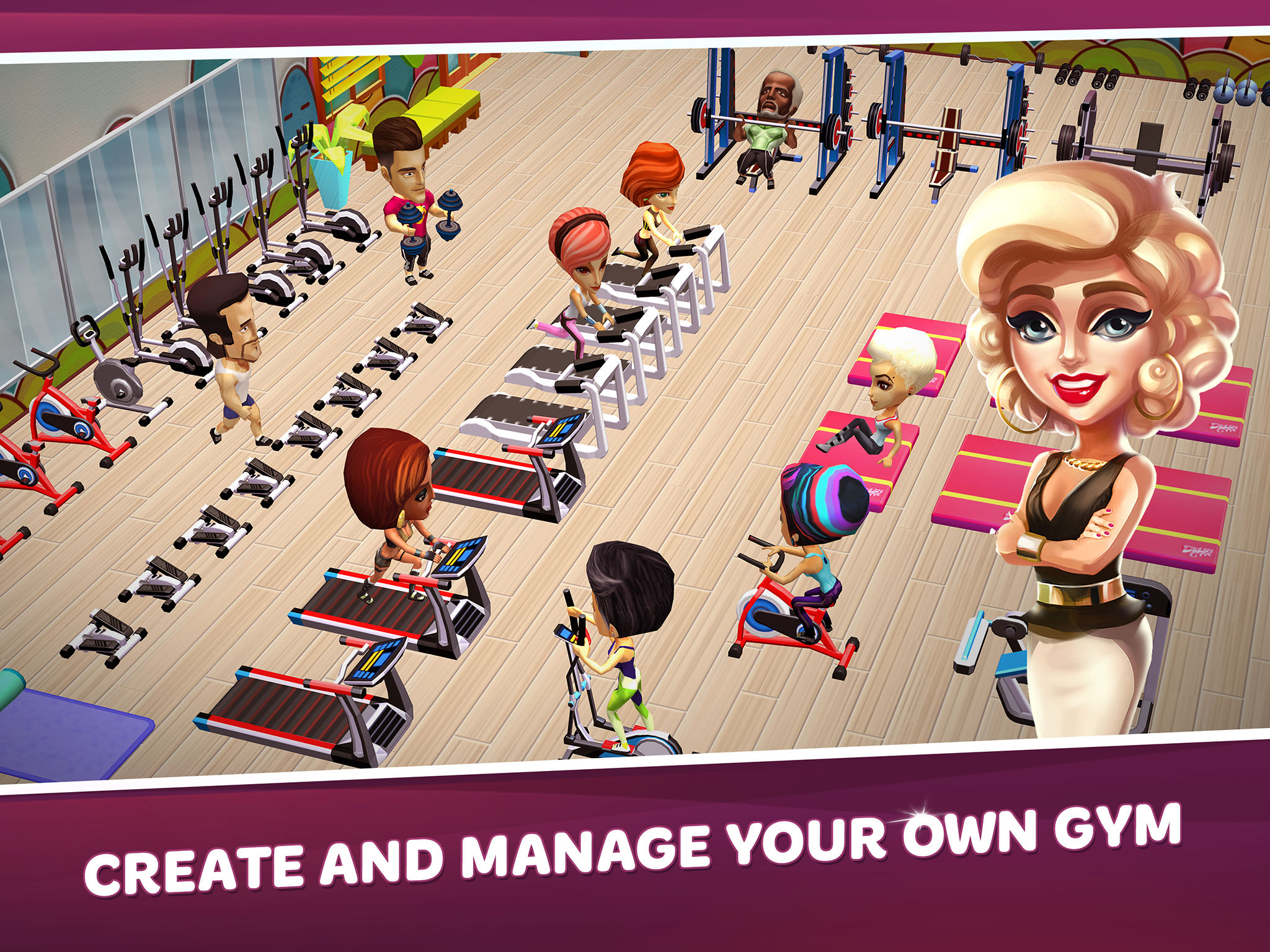 Dream gym build your own fitness empire app ranking and for Build your own net dream