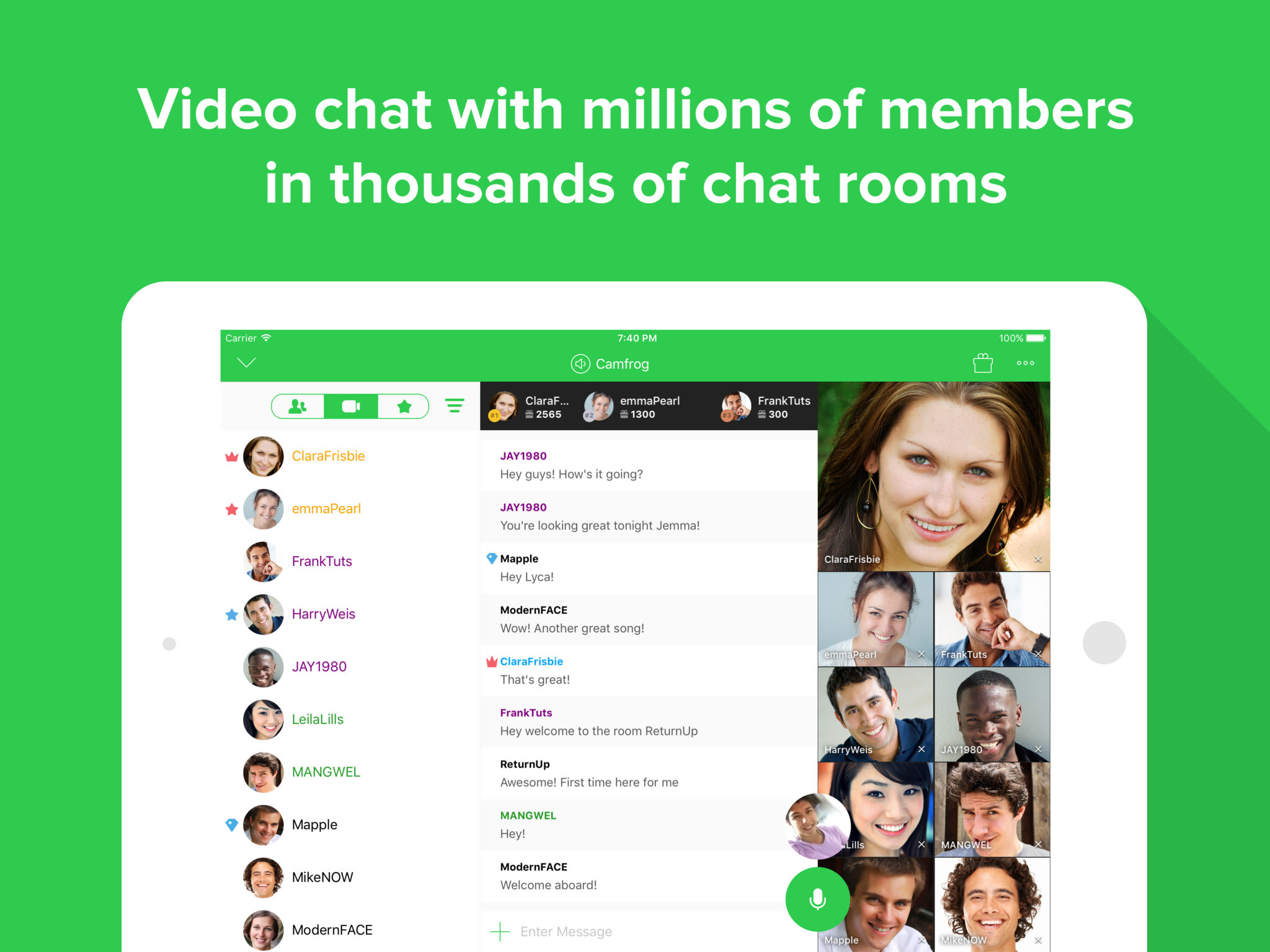 Camfrog - Live Streaming Video App Ranking and Store Data | App Annie