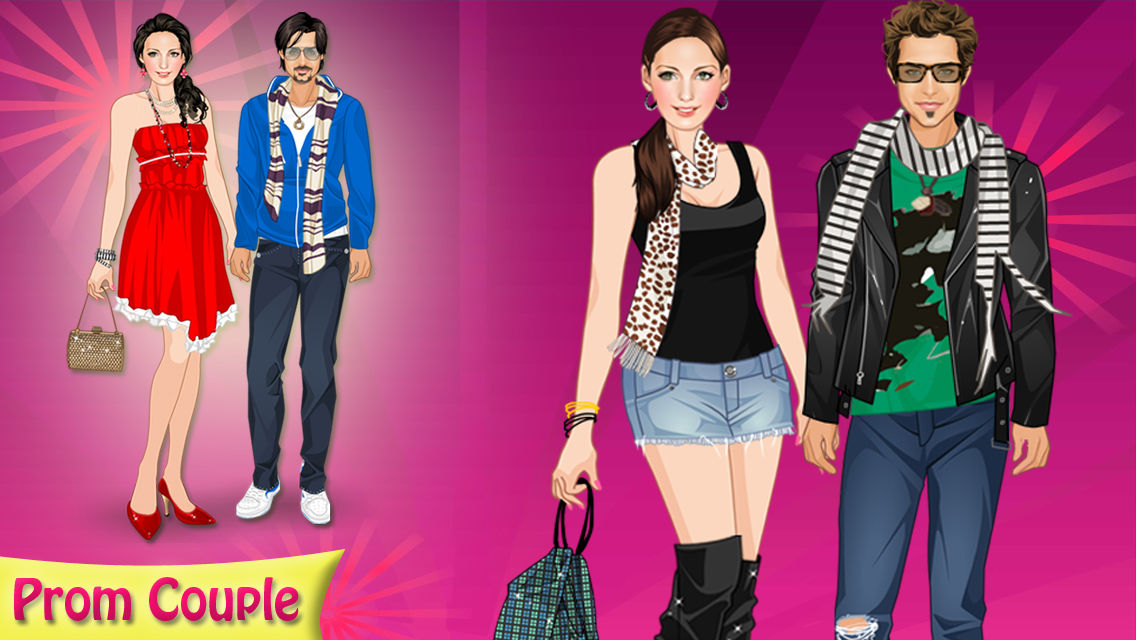 Dress up dating couples games