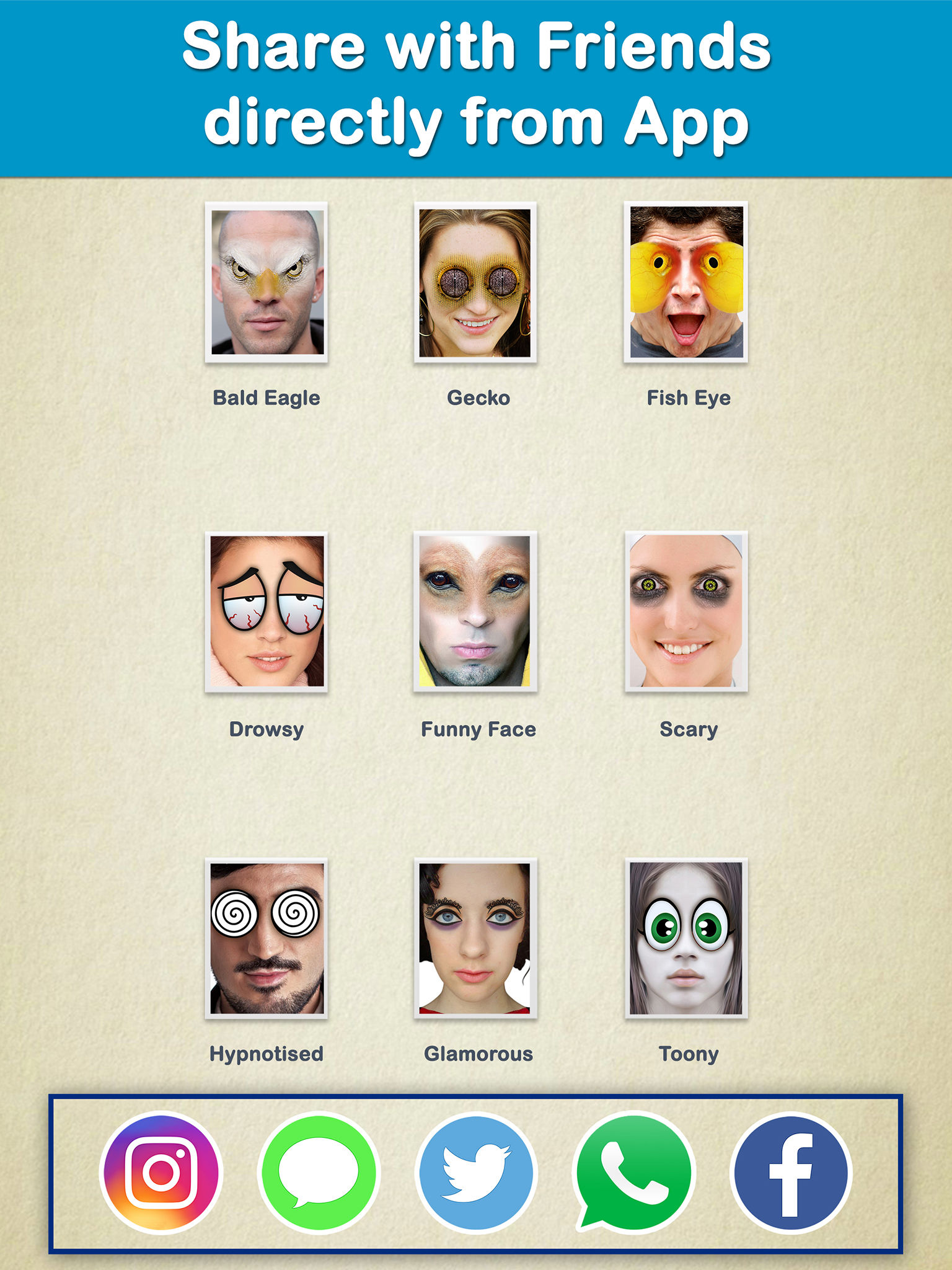Crazy Bug Eyes Changer Booth : Funny Eye Makeup App Ranking and
