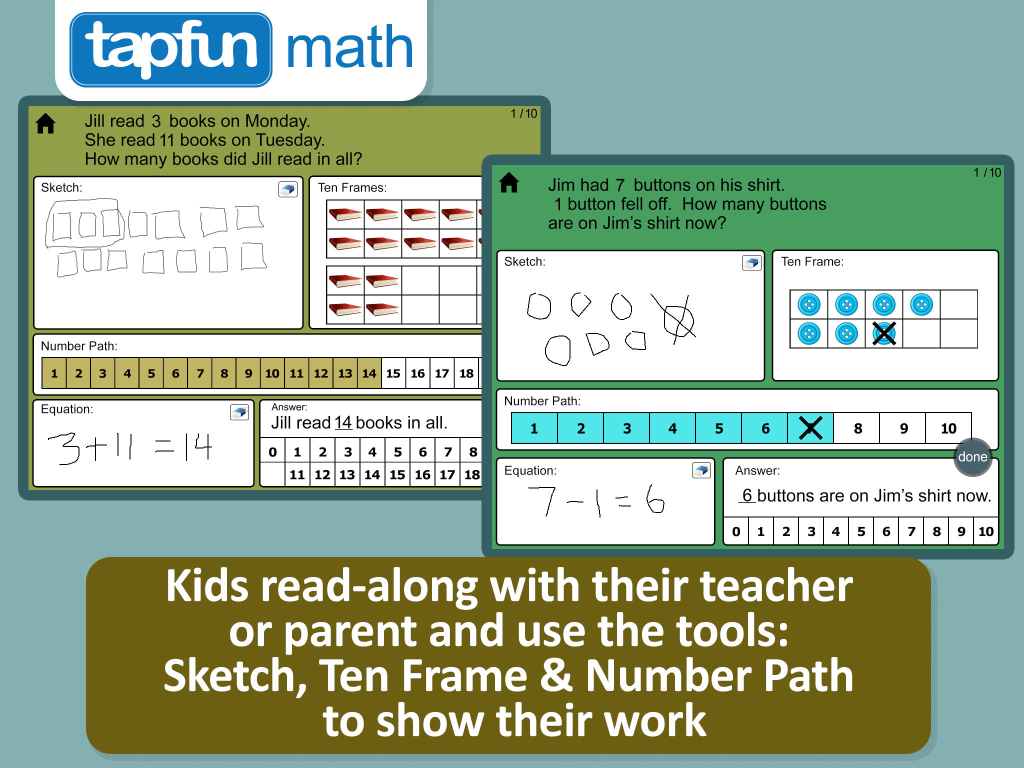 therefore it is often best for students to use number paths instead of number lines until 2nd grade fuson etal 2009
