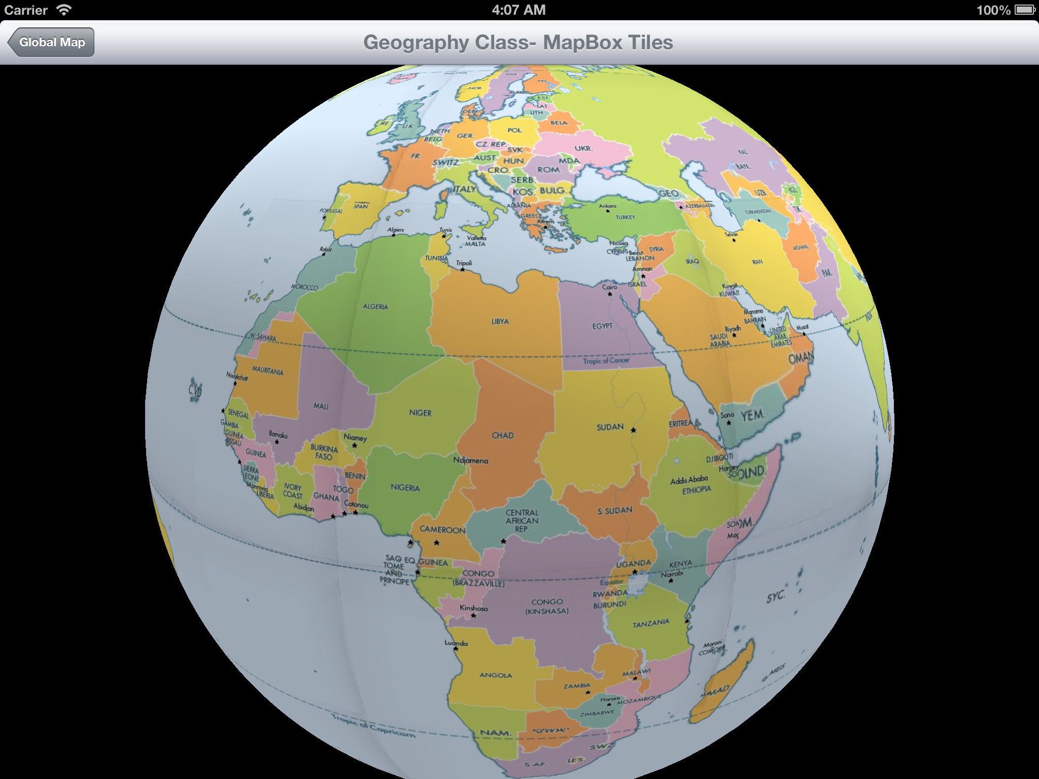Global map 3d world map app ranking and store data app annie global map is a 3d world map for idevices you can view online map and offline map map earth view ocean water map street map land map action gumiabroncs Gallery
