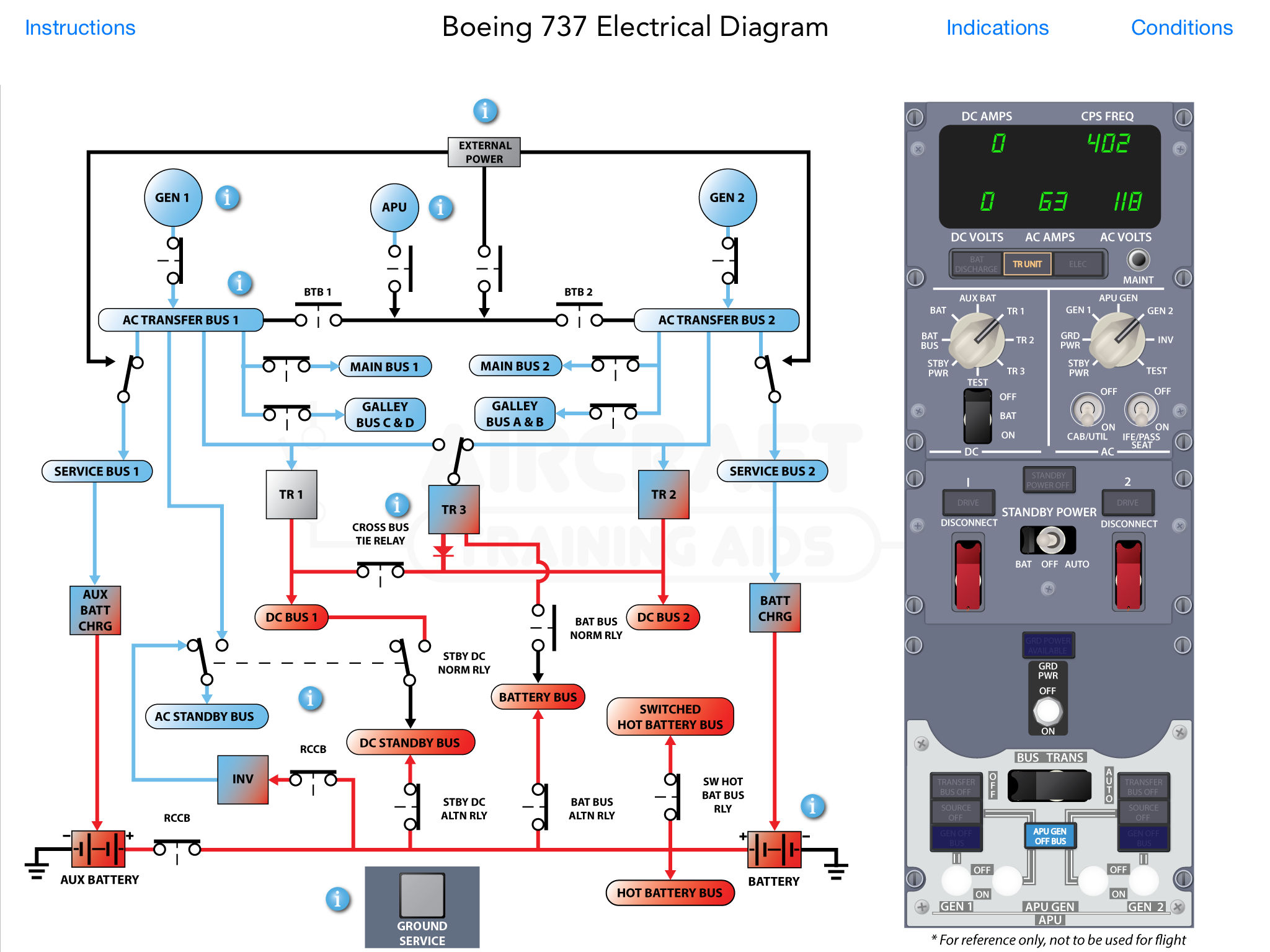 Boeing B737 Ng Electrical Diagram App Ranking And Store