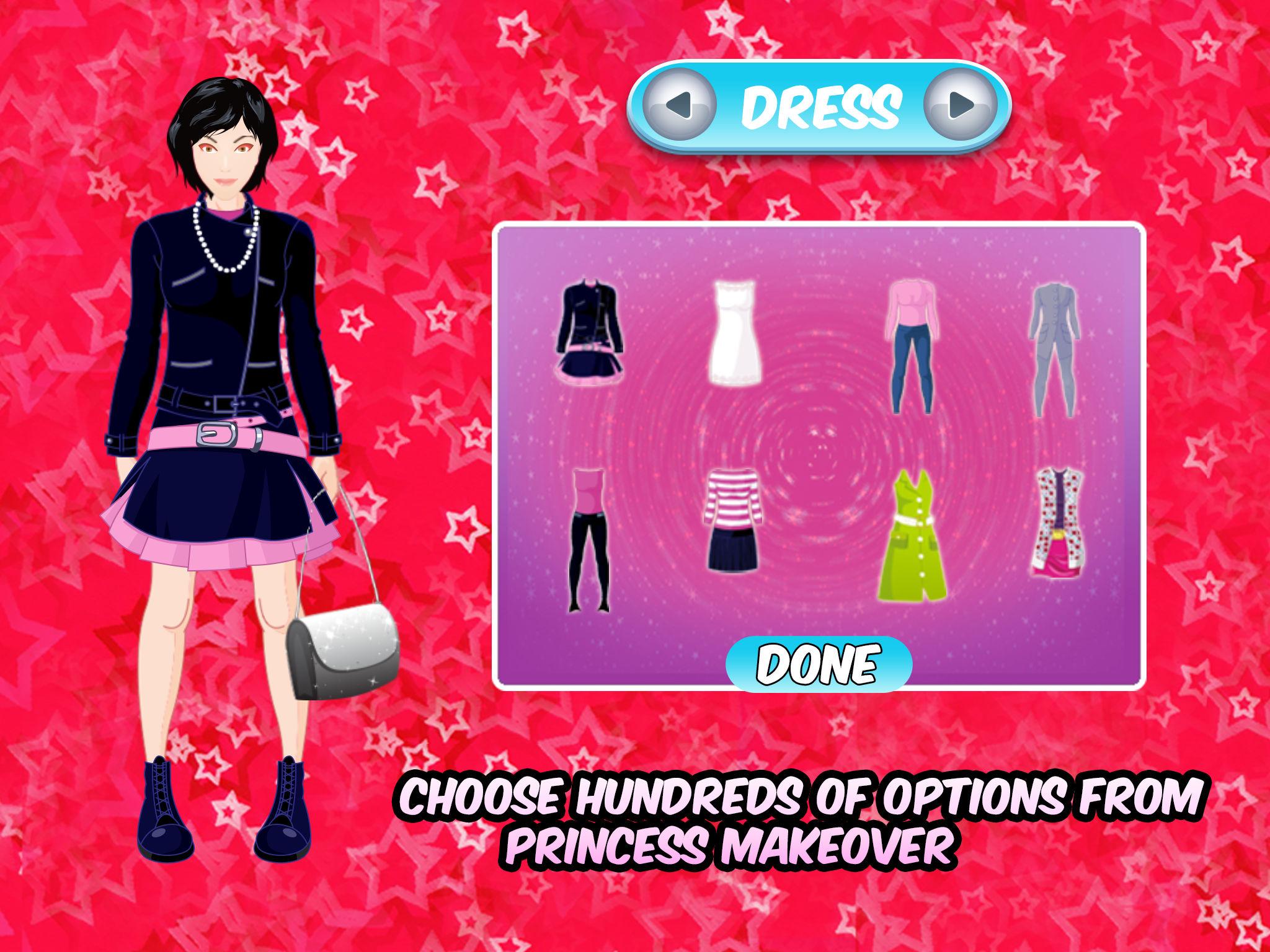 Princess Prom Night Dress up – Free Girls Fashion Make up & Makeover ...