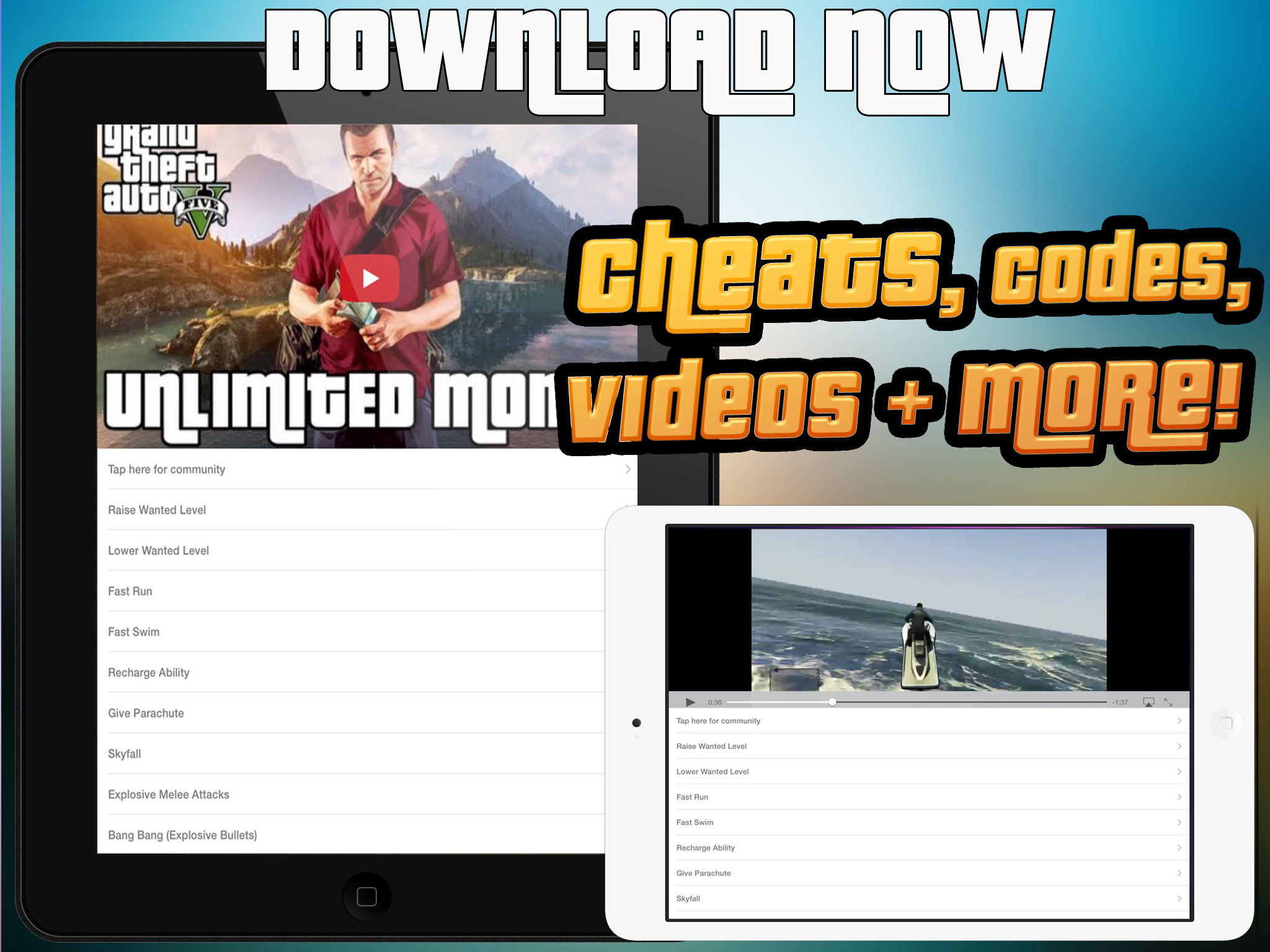 Cheat Suite Grand Theft Auto 5 App Ranking and Store Data | App Annie