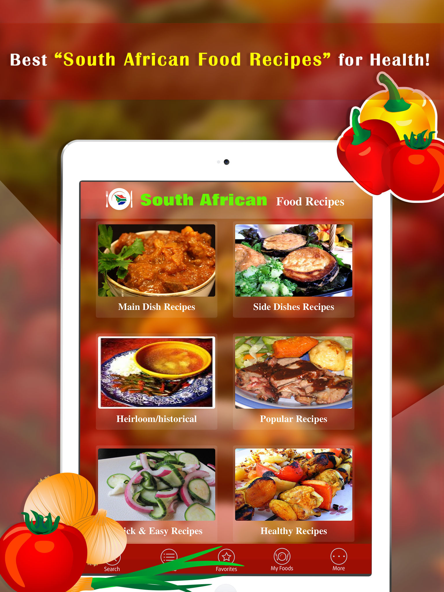 South african food recipes app ranking and store data app annie app description forumfinder Gallery