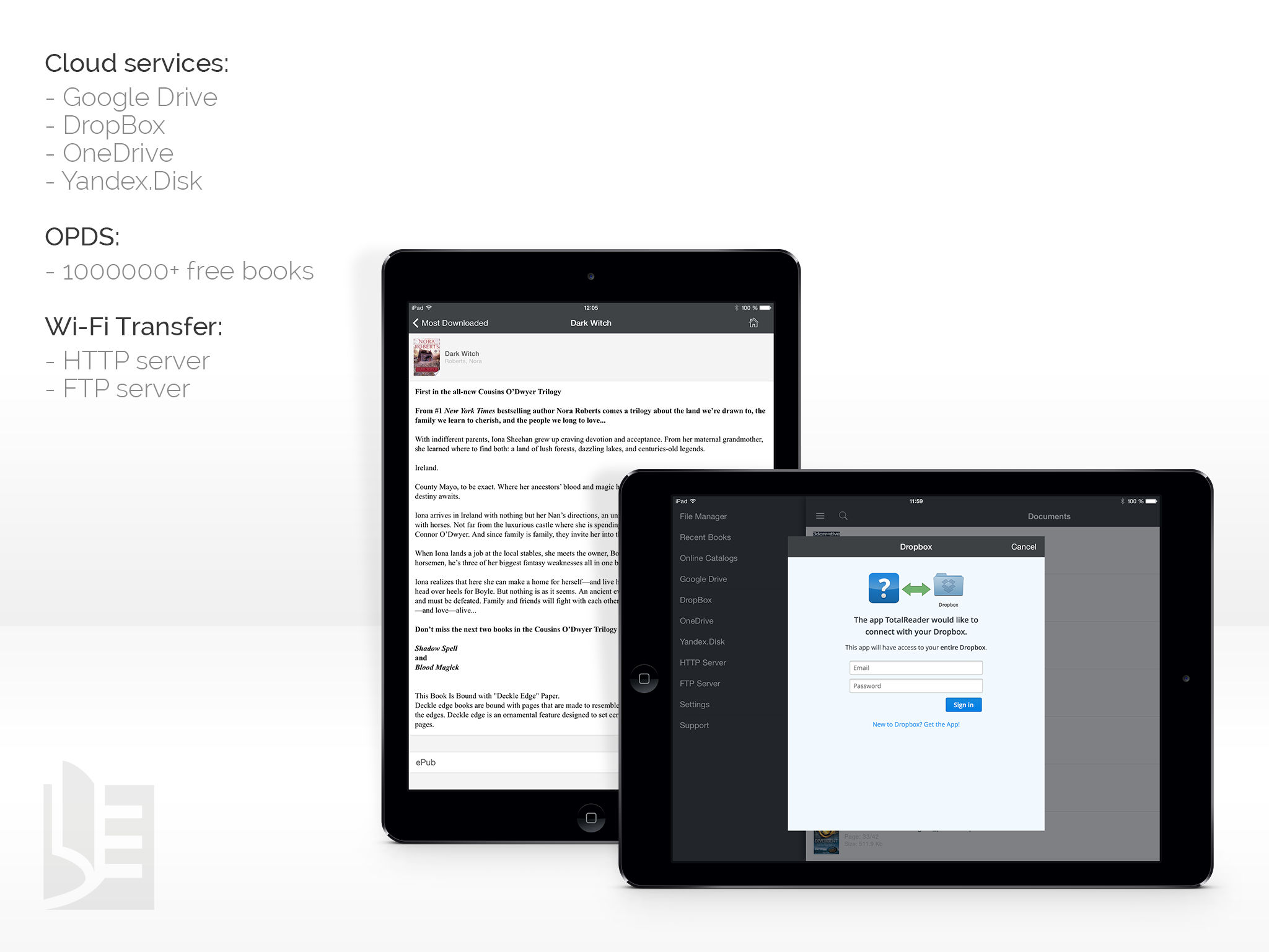TotalReader for iPad - The BEST eBook reader for epub, fb2