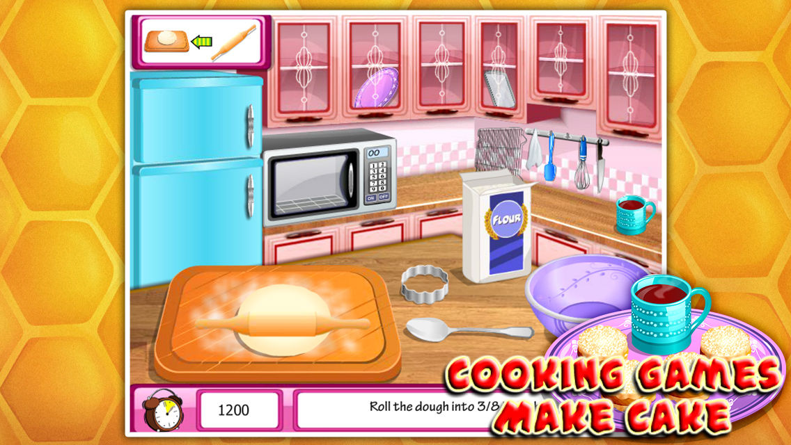 Cooking gamesmake cake app ranking and store data app annie now you could make a personalized cake by yourself so everybody is invited to give it a try and learn how to make delicious healthy cake and let the you be solutioingenieria Choice Image