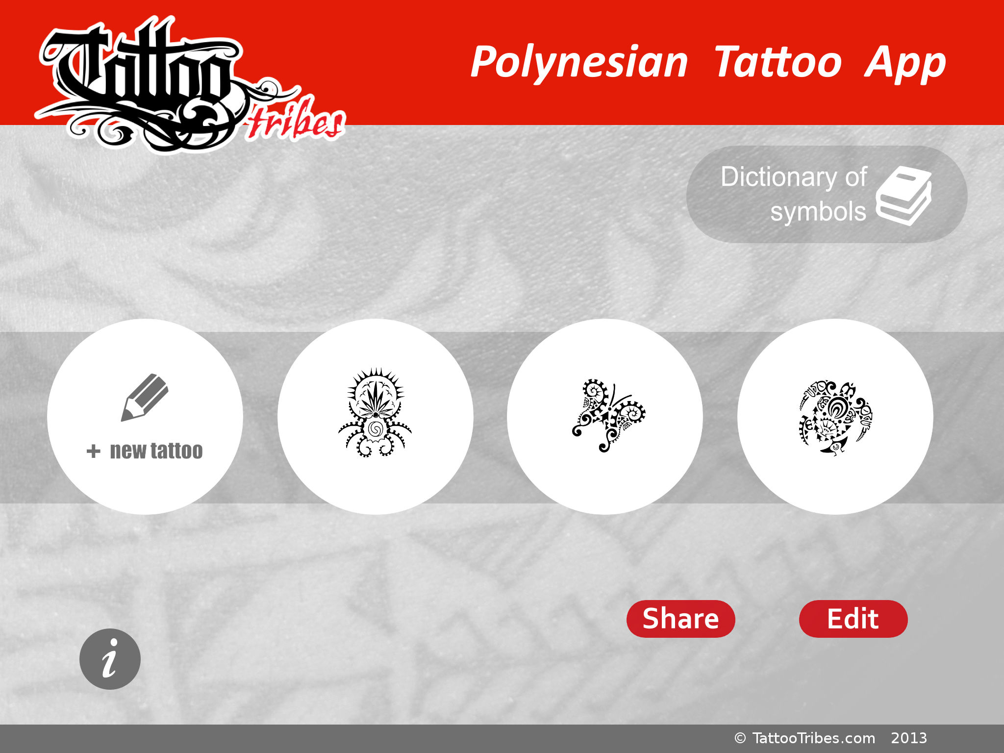 Polynesian tattoo app for ipad app ranking and store data app annie preparing your tattoo with meaning in mind has never been this easy join the tribe and shape your dreams biocorpaavc Gallery