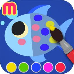 My First Coloring Book - painting app for toddler and kids App ...