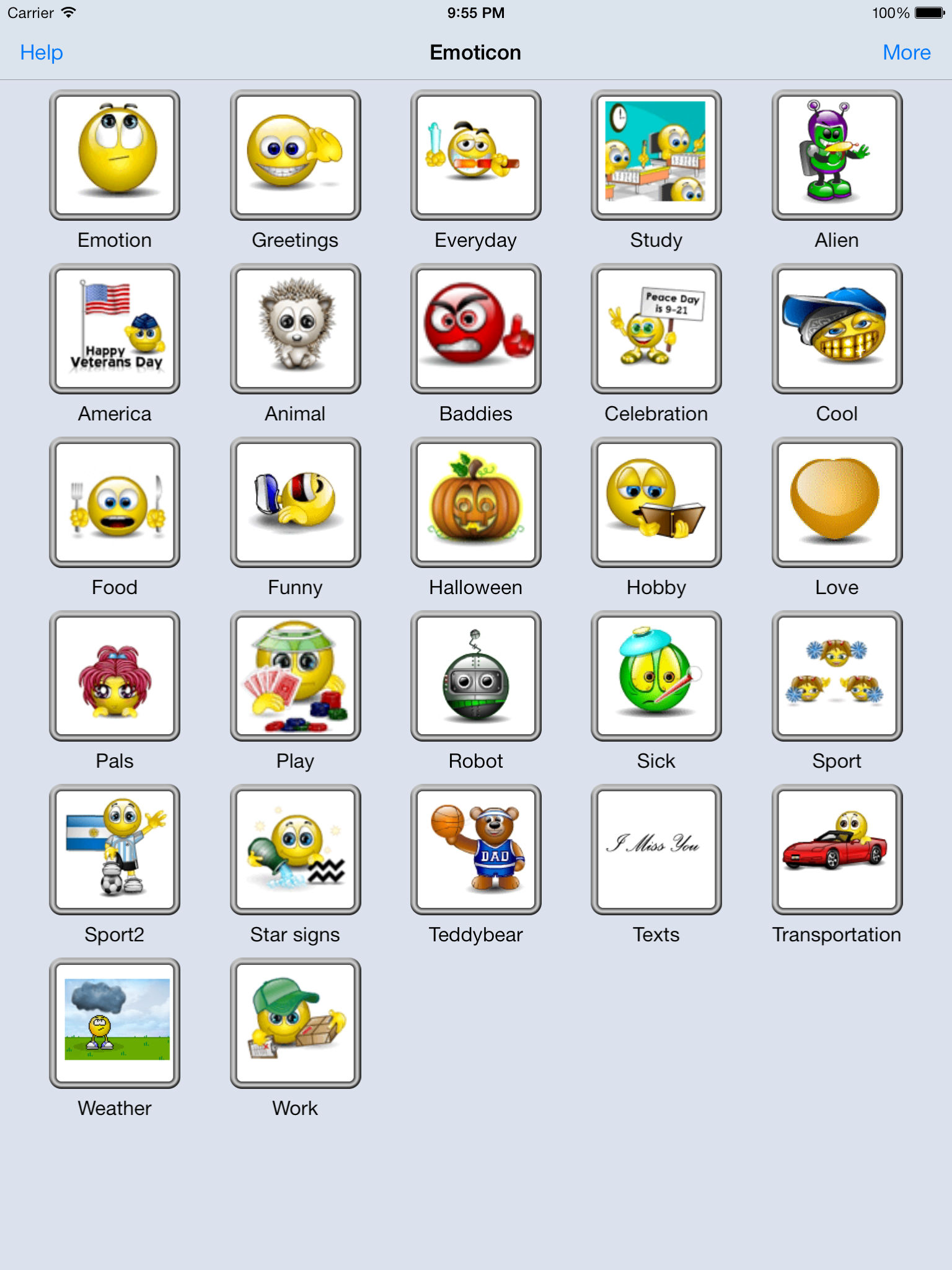 Animated 3D Emoji Emoticons Free - SMS MMS WhatsApp