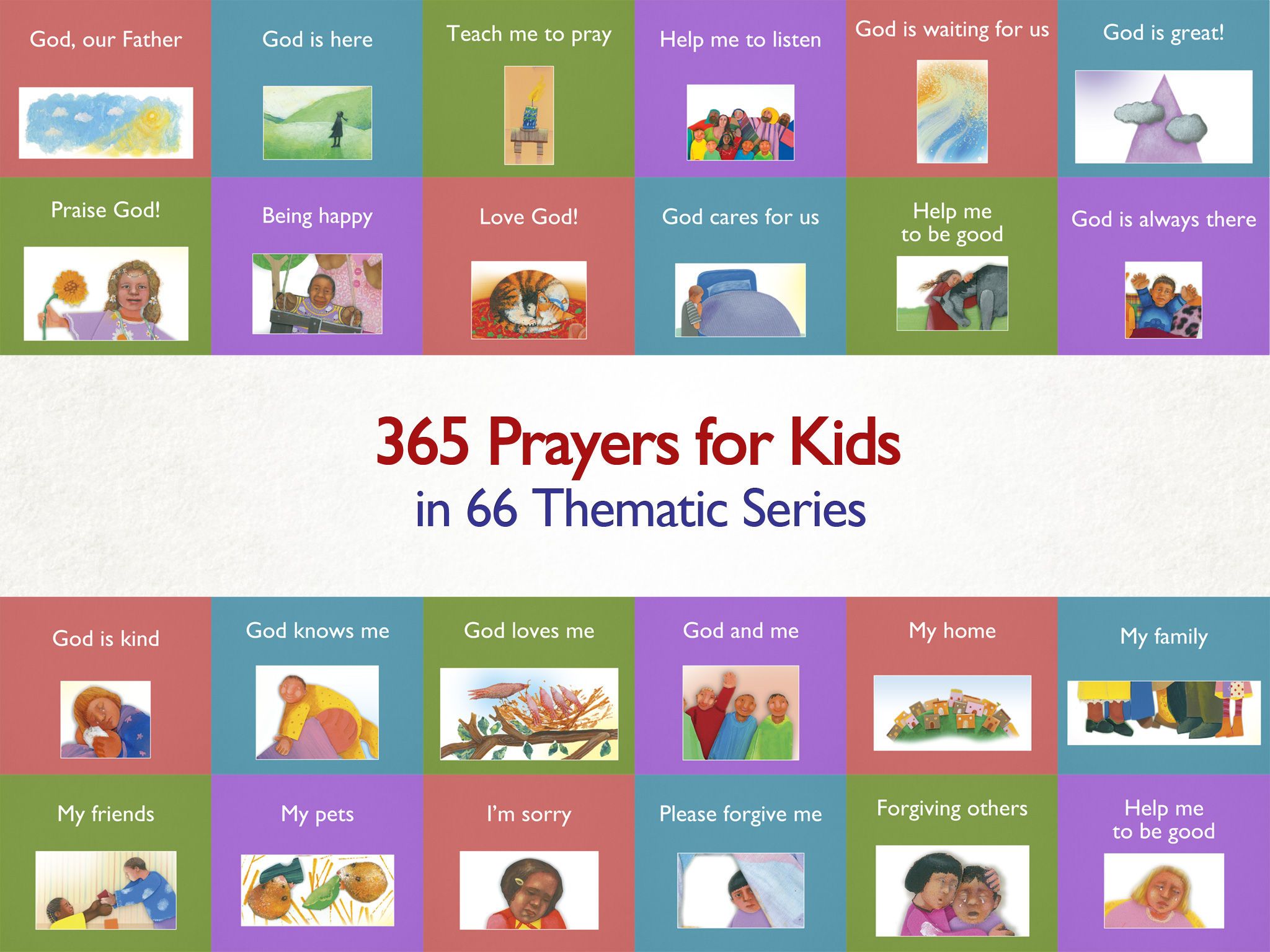 365 prayers for kids u2013 a daily illustrated prayer for your family
