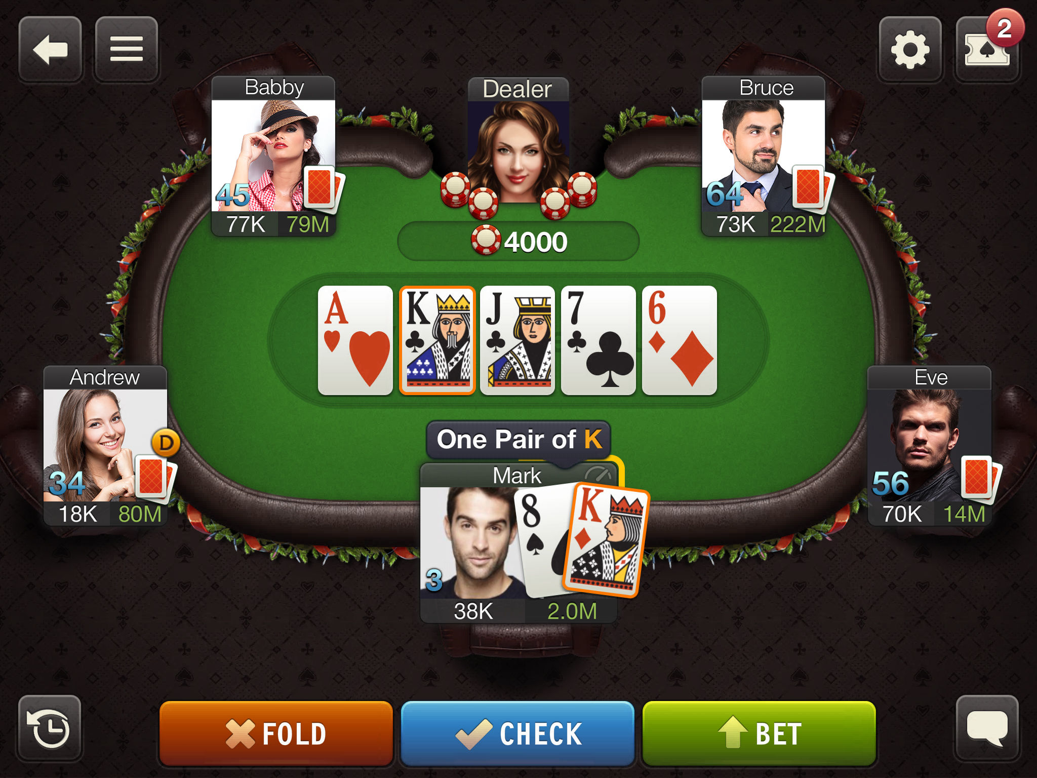 World poker tour app
