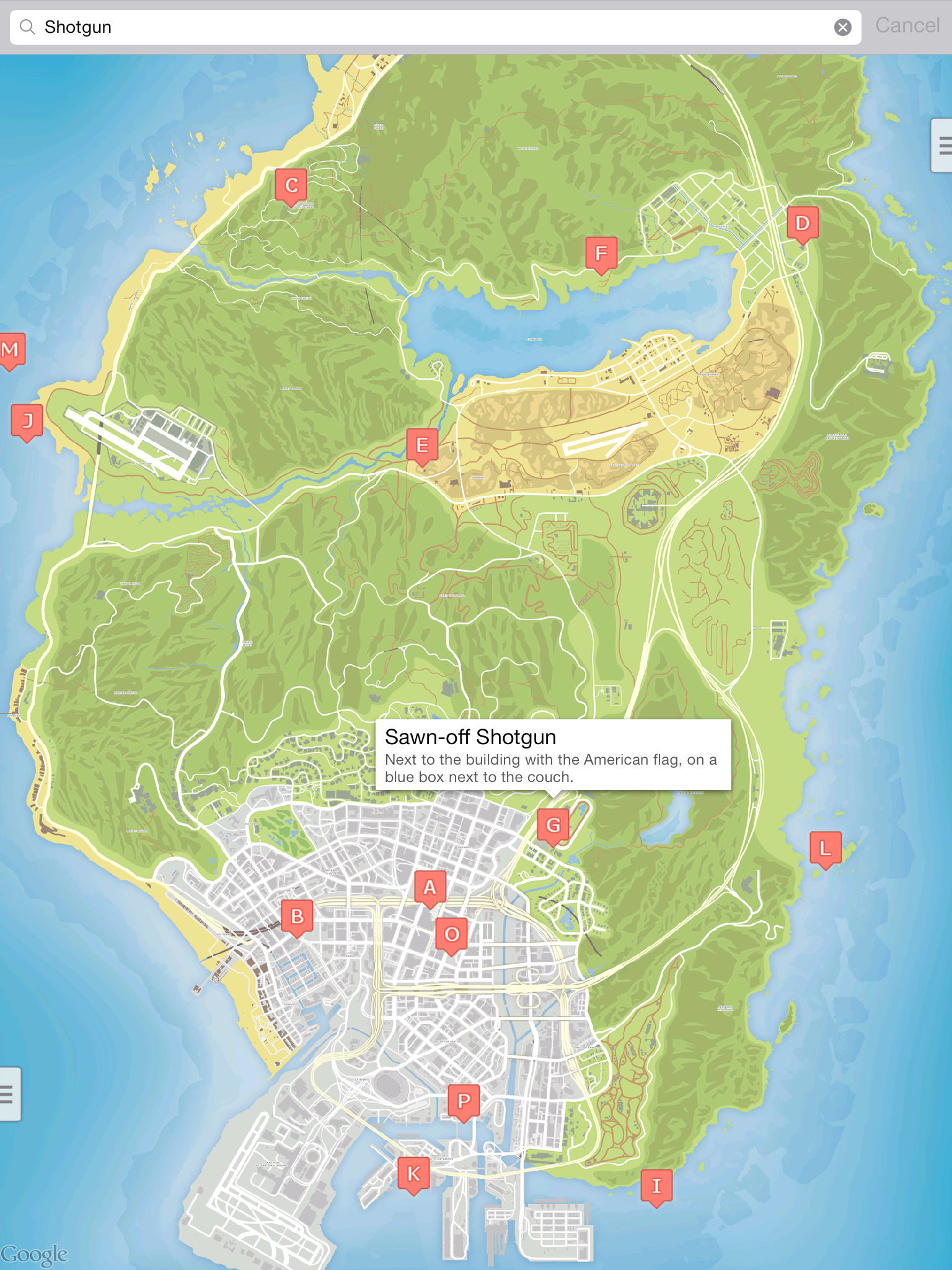 Interactive Map for GTA 5 - Unofficial App Ranking and ...