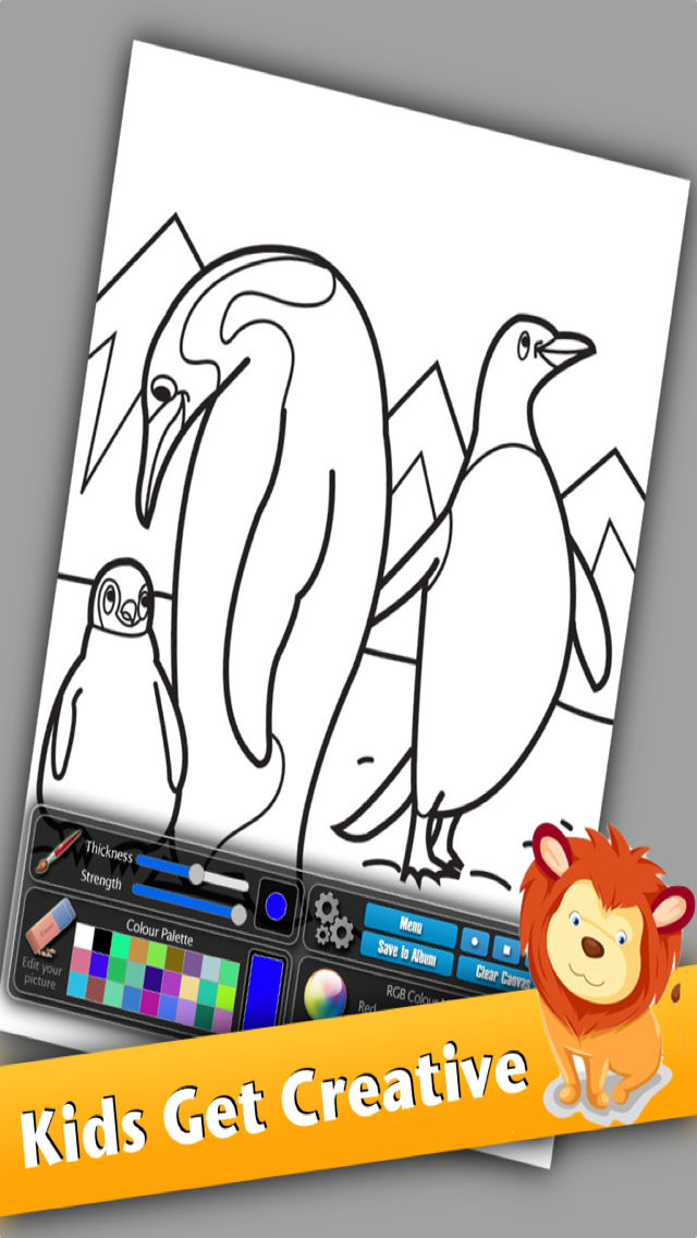 The Fun Coloring Book Featuring 30 Templates To Color In