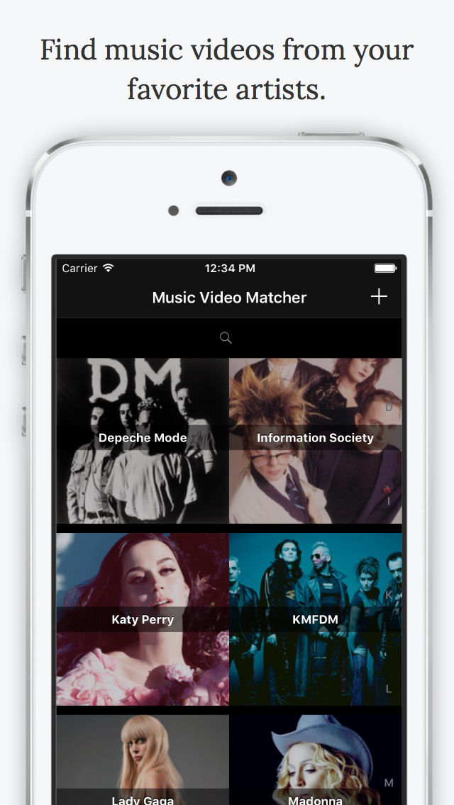 Music Video Matcher - for YouTube & Vimeo - Discover Music