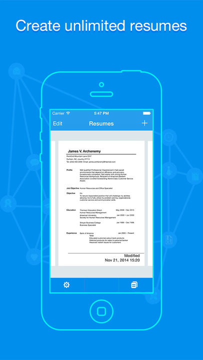 how to save a resume to iphone 28 images resume apex
