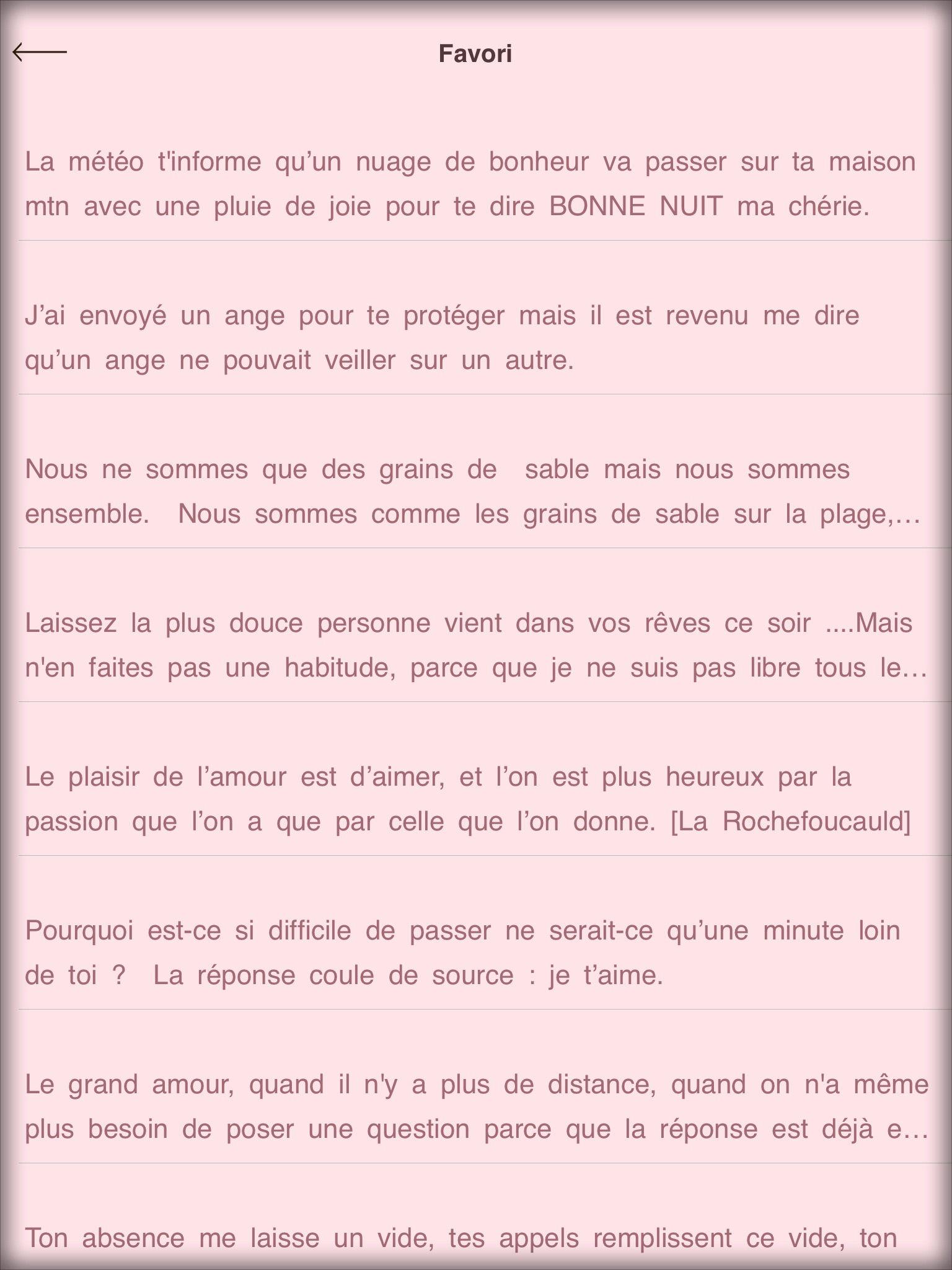 рейтинги и данные магазинов для приложения Mots De Poem De L
