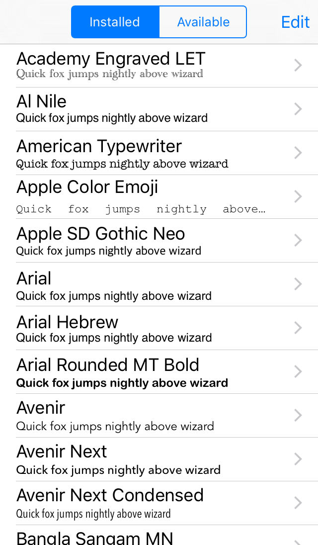 Font Manager App Ranking and Store Data | App Annie