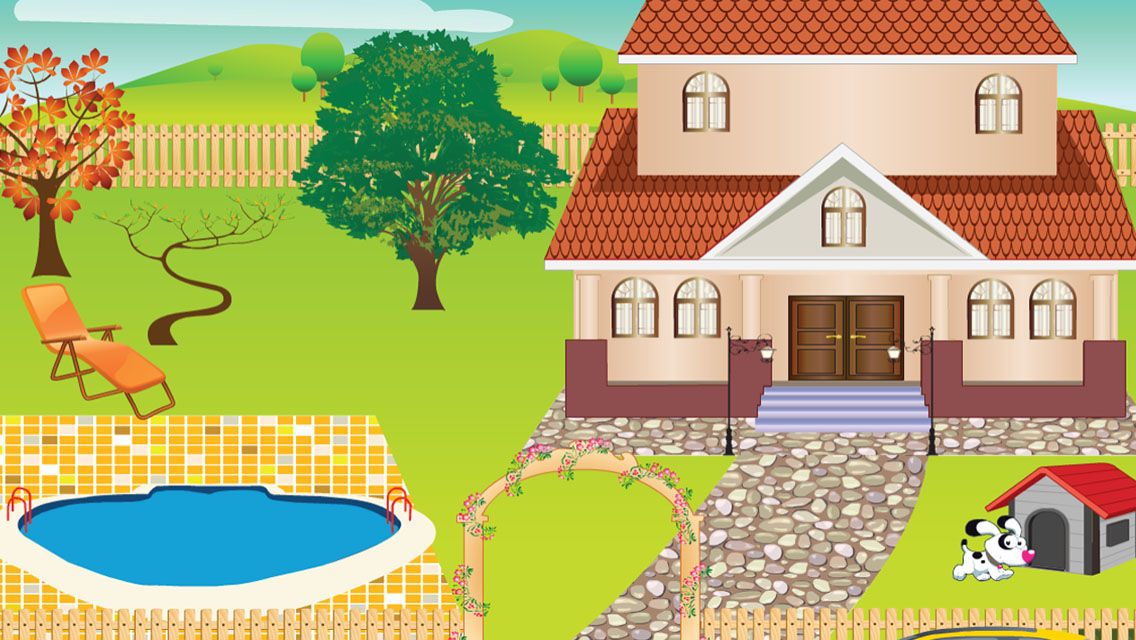 Decorate a house game free