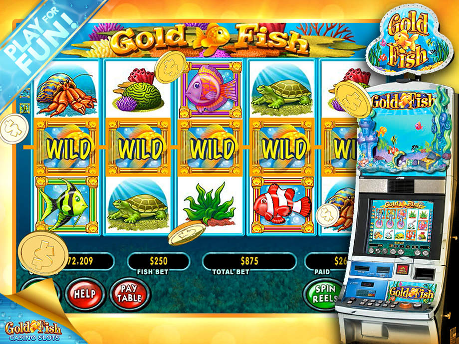 Gold fish casino slots hd free slot machine games app for Fish casino slot