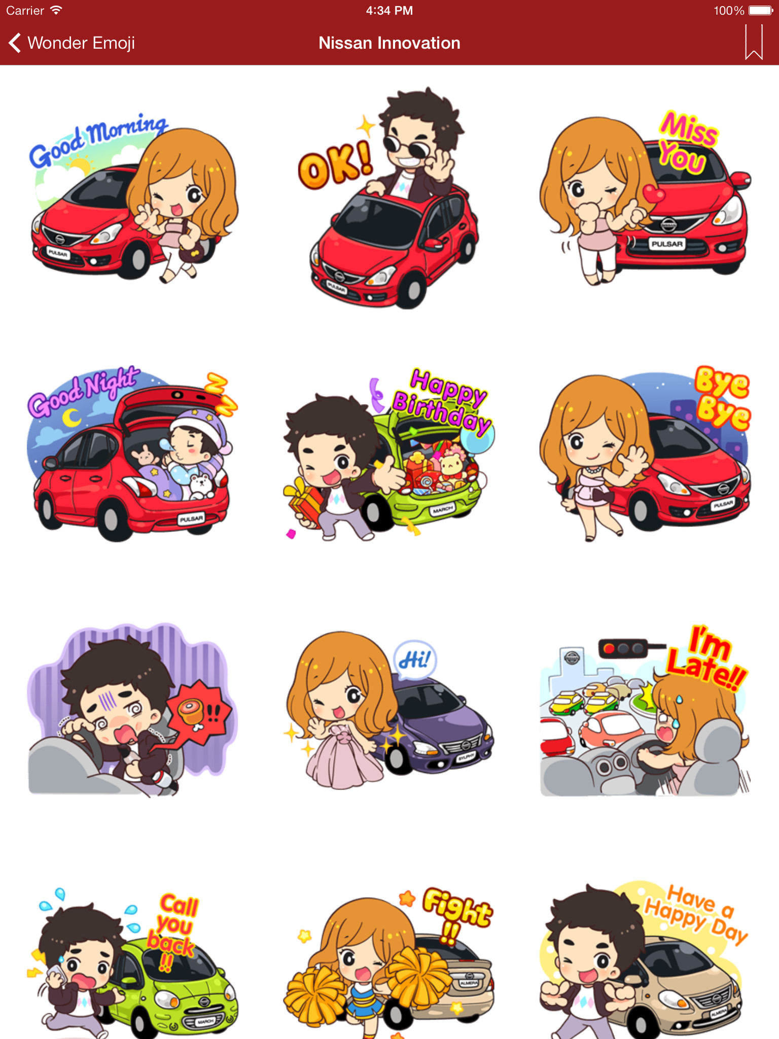 Wonder Emoji Emoji Emoticon Sticker For Whatsapp Facebook