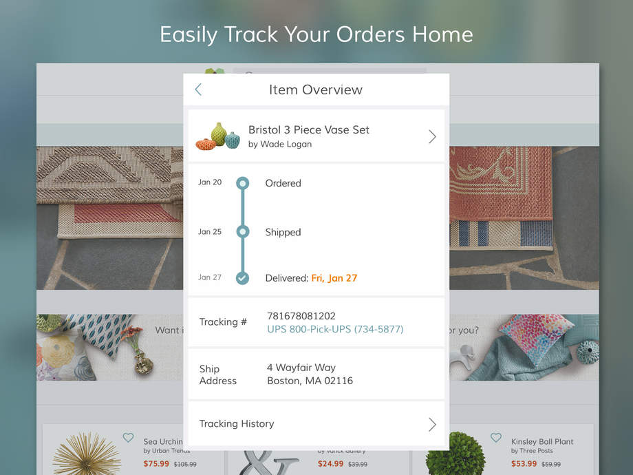 download wayfair home july august wayfair shop furniture home decor daily sales app