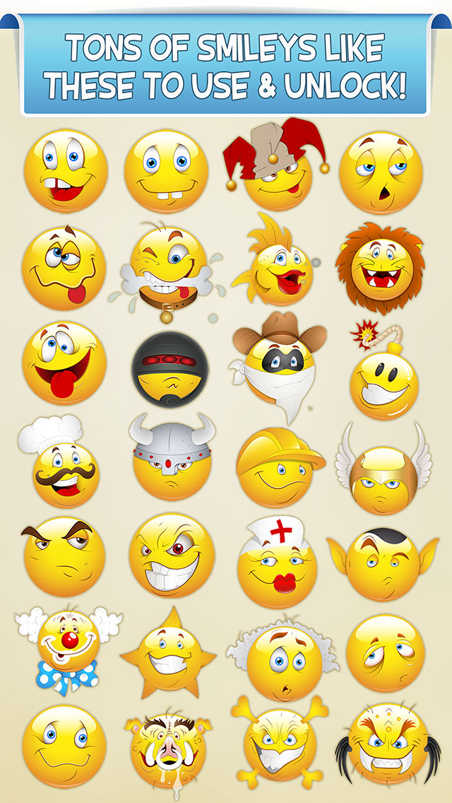 smiley face photo booth funny emoticon picture stickers awesome