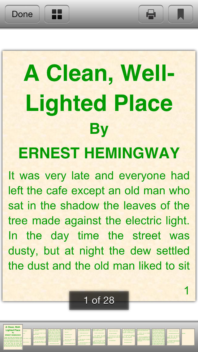 existentialism in a clean well lighted place by ernest hemingway Existentialism of the ― ernest hemingway, a clean, well-lighted place.
