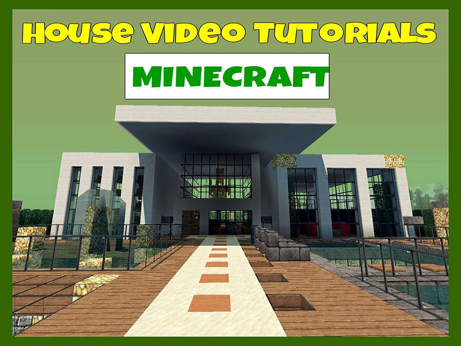 Houses for minecraft video tutorials house building for House construction app